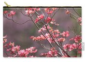 Pink And Purple Spring Trees Carry-all Pouch by Carol Groenen