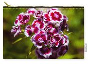 Pink And White Carnations Carry-all Pouch