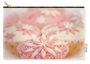 Pink And White Cup Cakes Carry-all Pouch