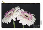Pink And White Gerbera 2 Carry-all Pouch