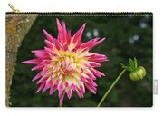 Pink And Yellow Carry-all Pouch