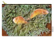 Pink Anemonefish Trio Papua New Guinea Carry-all Pouch