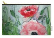 Pink Anemones Carry-all Pouch