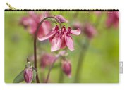 Pink Aquilegia Carry-all Pouch