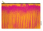 Pink Aspen Trees Carry-all Pouch