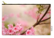 Pink Azalea Bush Carry-all Pouch