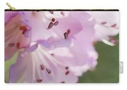 Pink Azalea Flowers In The Morning Light Carry-all Pouch