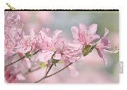 Pink Azalea Flowers In The Spring Carry-all Pouch