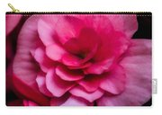 Pink Begonia Carry-all Pouch