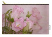 Pink Bell Flowers Carry-all Pouch