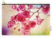 Pink Blossom - Watercolor Edition Carry-all Pouch