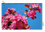 Pink Blossoms Blue Sky 031015a Carry-all Pouch