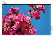 Pink Blossoms Blue Sky 031015aa Carry-all Pouch