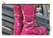 Pink Boots Carry-all Pouch by Jasna Buncic