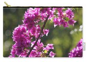 Pink Bougainvillea Sunshine Carry-all Pouch