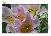 Pink Bridal Bouquet Carry-all Pouch