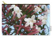 Pink Buds And Jasmine Blossom Close Up Carry-all Pouch