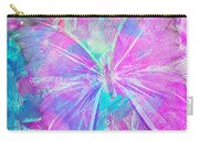 Pink Butterfly By Jan Marvin Carry-all Pouch