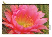 Pink Cactus Flower Of The Southwest Carry-all Pouch