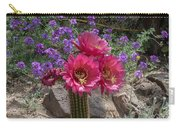 Pink Cactus Torch Carry-all Pouch