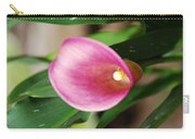 Pink Cala Lily Carry-all Pouch