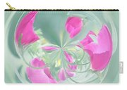 Pink California Poppy Orb Carry-all Pouch