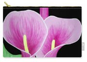 Pink Calla Lilies 1 Carry-all Pouch