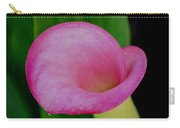 Pink Calla Lily Carry-all Pouch