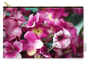 Pink Canvas Flora Carry-all Pouch
