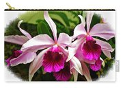 Pink Cattleya Cluster Carry-all Pouch