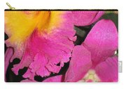 Pink Cattleya Orchid Carry-all Pouch