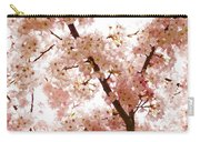 Pink Cherry Blossoms - Impressions Of Spring Carry-all Pouch
