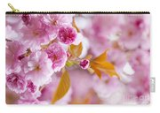 Pink Cherry Blossoms In Spring Orchard Carry-all Pouch by Elena Elisseeva
