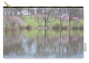 Pink Cherry Reflections Carry-all Pouch