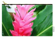 Pink Cone Ginger Carry-all Pouch
