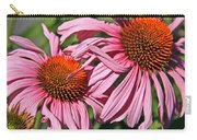 Pink Coneflowers Carry-all Pouch