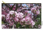 Pink Crabapple Carry-all Pouch