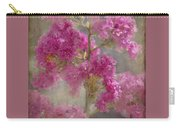 Pink Crape Myrtle Carry-all Pouch
