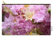 Pink Crepe Myrtle Closeup Carry-all Pouch