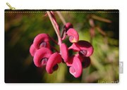 Pink Curls - Flower Macro Carry-all Pouch