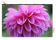 Pink Dahlia Closeup Carry-all Pouch