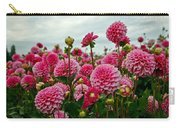 Pink Dahlia Field Carry-all Pouch