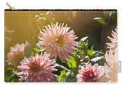 Pink Dahlia Garden Carry-all Pouch