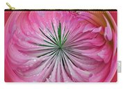 Pink Dahlia Orb Carry-all Pouch