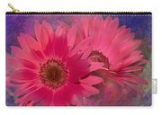 Pink Daisies Abstract Carry-all Pouch