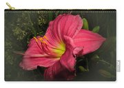 Pink Day Lily Carry-all Pouch