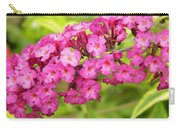 Pink Delphinium Carry-all Pouch
