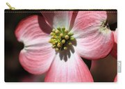 The Cross Of Christ Pink Dogwood At Easter 7 Carry-all Pouch