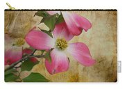 Pink Dogwood Bloom Carry-all Pouch