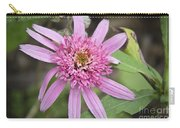 Pink Double Delight Echinacea Carry-all Pouch